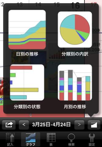 ExpenseBook -budget viewer screenshot 4
