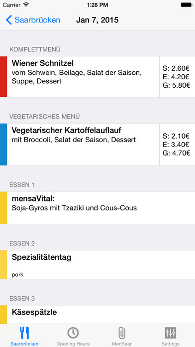 MenSaar iPhone Screenshot 1