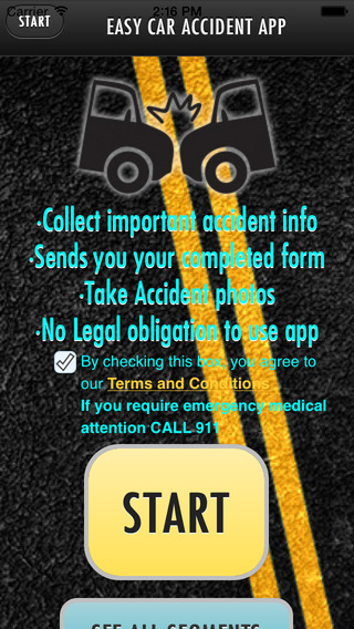 Easy Car Accident App
