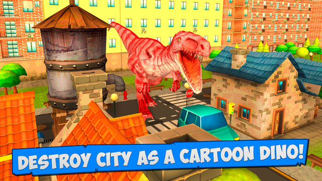 Cartoon Dino Crash 3D Full Screenshots
