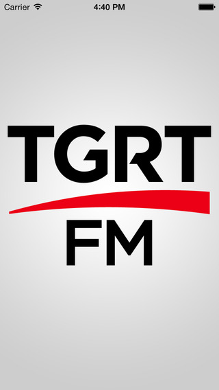 Tgrt FM iPhone Screenshot 1