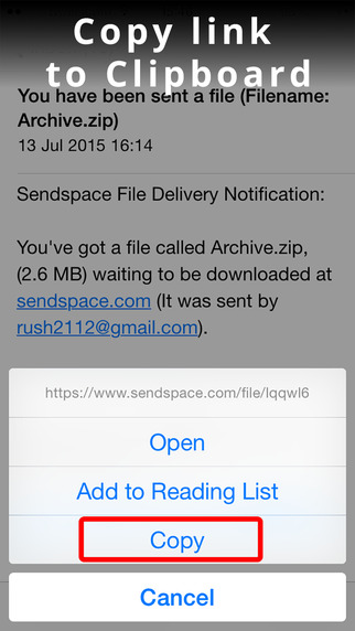 GetSpace - Download SendSpace Photos Videos and ZIP files