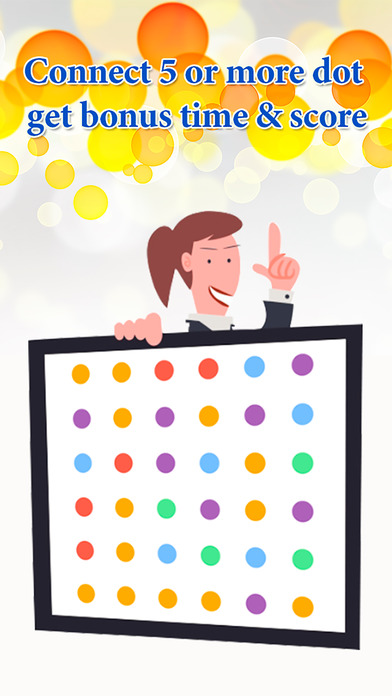 Touchy Dot - Connecting dot board game Games free for iPhone/iPad screenshot