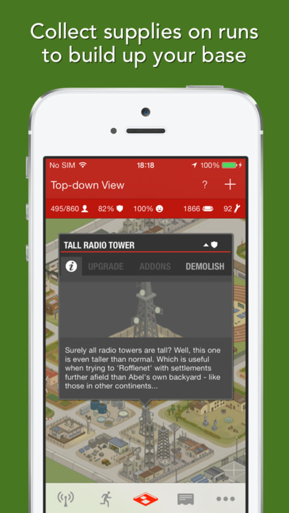 Zombies, Run! - iPhone Mobile Analytics and App Store Data