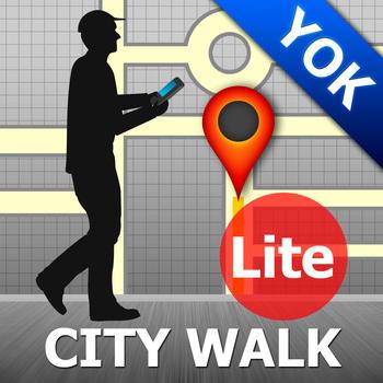 Yokohama Map and Walks 旅遊 LOGO-阿達玩APP