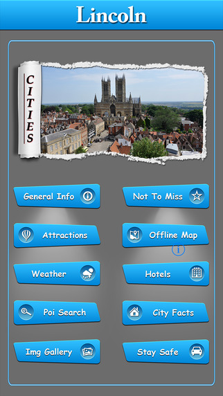 Lincoln Offline Map Travel Guide