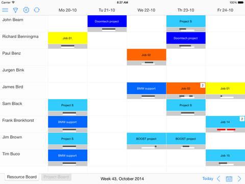 Timewax Planning Board