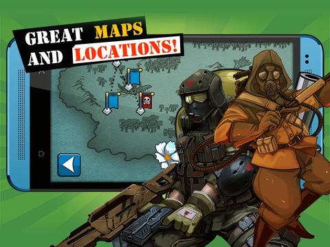 Abyssal Earth Defense - Star Command Heroes Battle iPad Screenshot 3