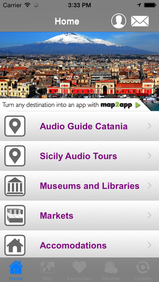Audio Guide Catania