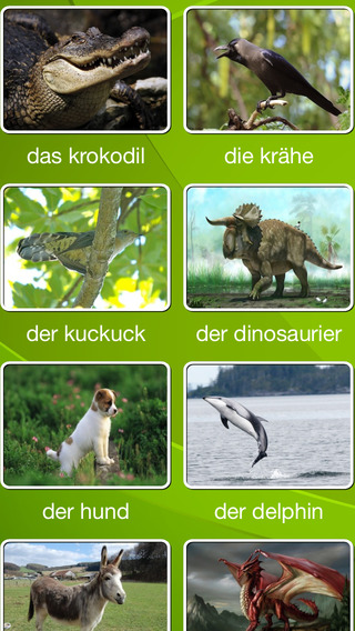 Kind buchstabieren Tier Name