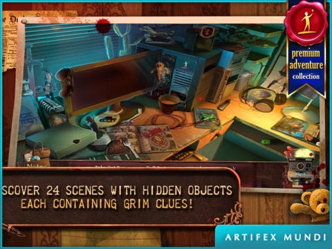 Deadly Puzzles: Toymaker HD - Hidden Object Gamescreeshot 2