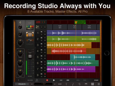 AmpliTube for iPad iPad Screenshot 5