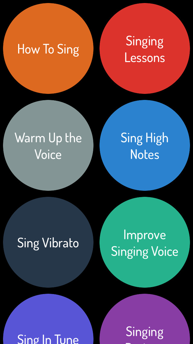 singing and software Sing your heart out and record your lovely voice with complementary songs to  make your clip more dynamic and unforgettable with our melodious application .