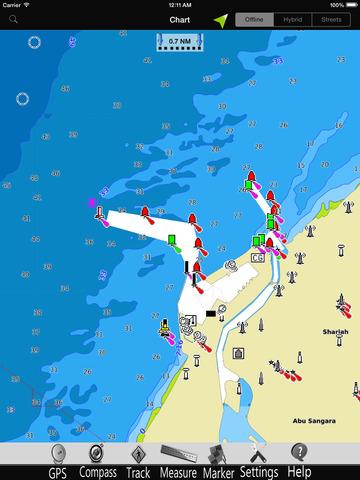 交通運輸必備免費app推薦|Dubai GPS Nautical charts pro線上免付費app下載|3C達人阿輝的APP