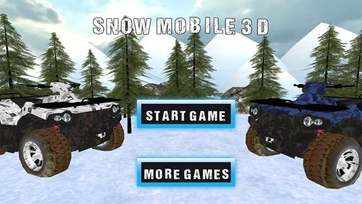 Snow Mobile Parking