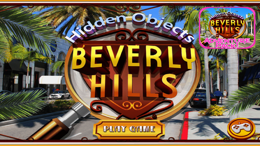 Hidden Objects: Beverly Hills Life Object Puzzle Time FREE