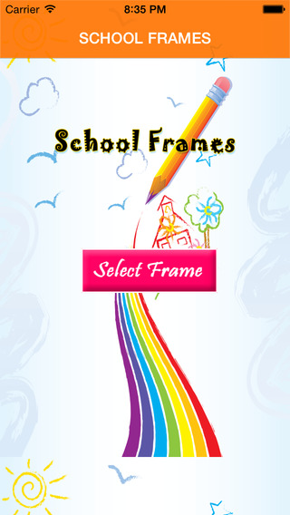 School Frames With Photo