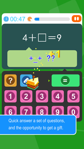 Kids learn mental arithmetic addition and subtraction Elementary school mathematics games