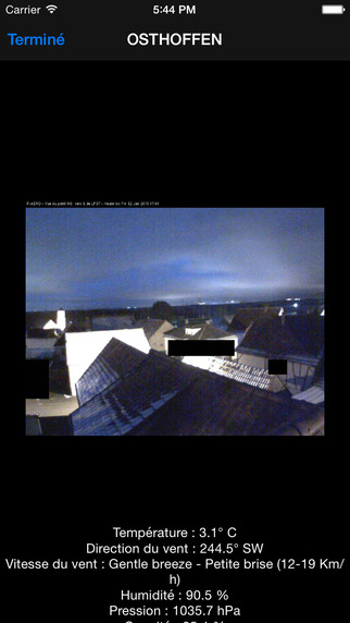 WeatherCam France