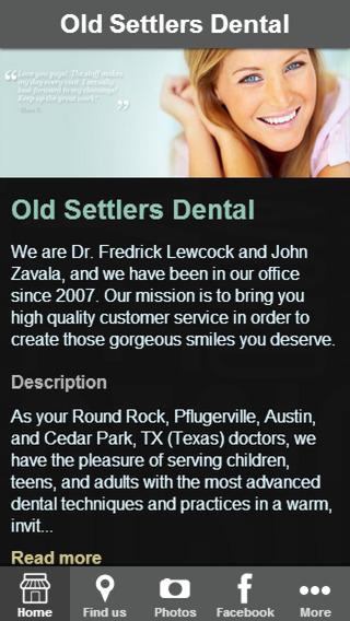 Old Settlers Dental