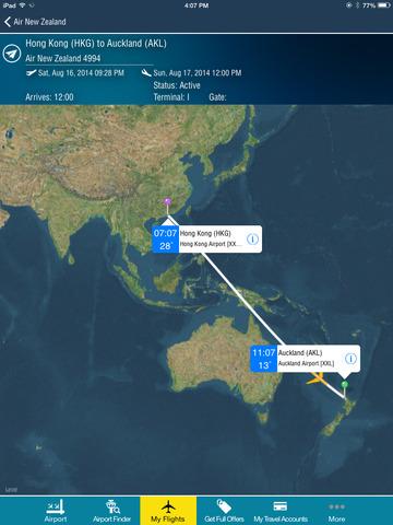 Auckland Airport + Flight Tracker HD air AKL New Zealand