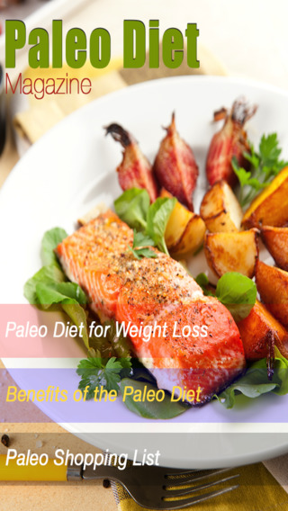Paleo Diet Magazine - for men and women recipes cookbooks and eating advice for healthy living.
