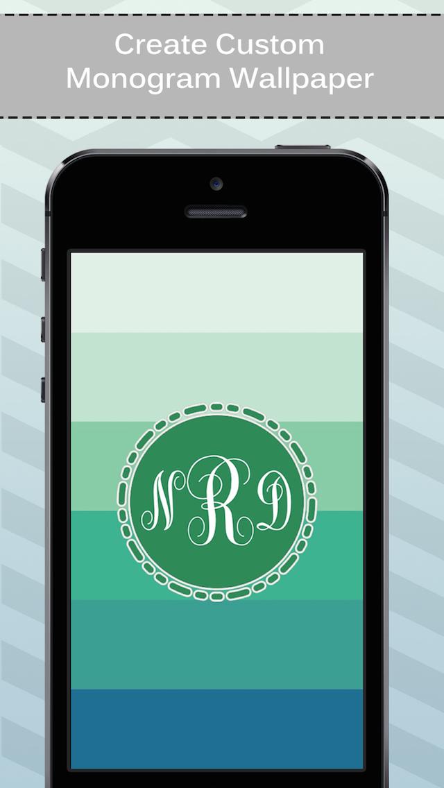 App Shopper: Monogram Made Easy - Wallpaper and Background ...