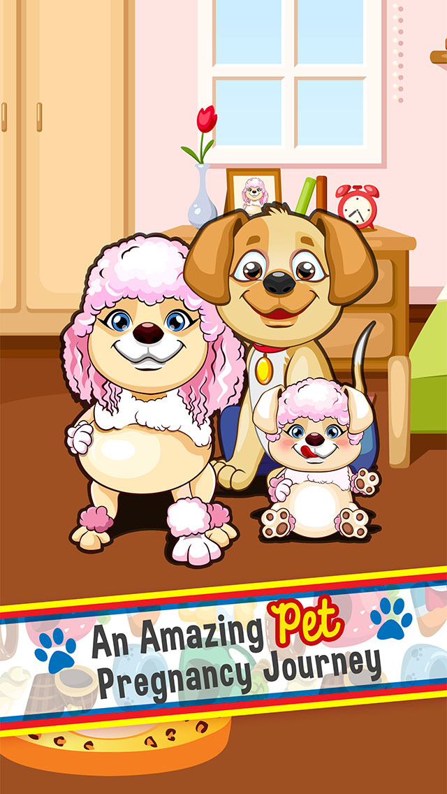 Pet Mommy's Newborn Baby Born Doctor - my new mom & hospital salon games