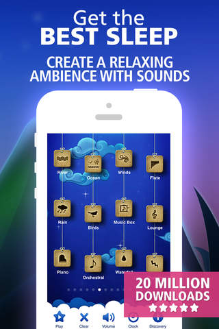 Relax Melodies P: sleep sounds, white noise & fan screenshot 1