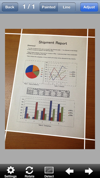 RectAce Scanner - High Quality Scanning of Documents Whiteboards Receipts etc.