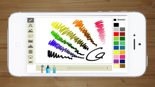 Doodle on the screen with your finger - Premium