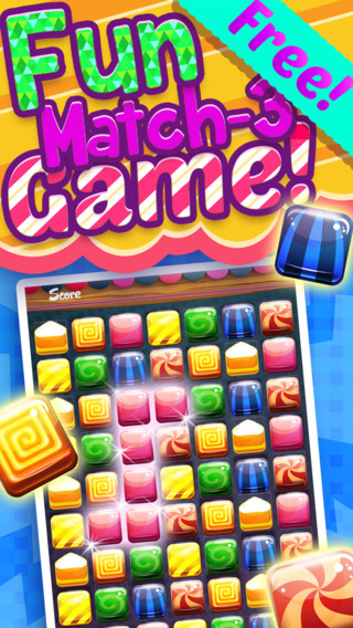 Candy Game Blitz - Fruit And Bubbles Puzzle Packs Mania