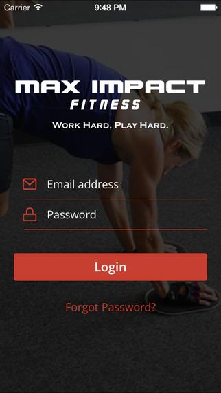 Scorecard App - Max Impact Fitness