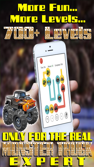 Match the Crazy Monster Trucks - Awesome Fun Puzzle Pair Up for Little Kids