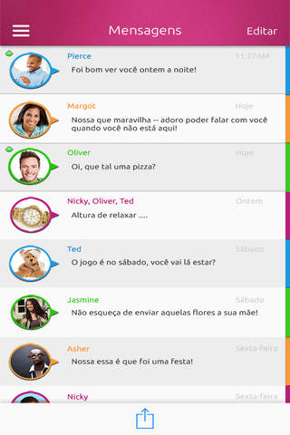 EMwithME - Free Text, Voice & Group Chat screenshot 2