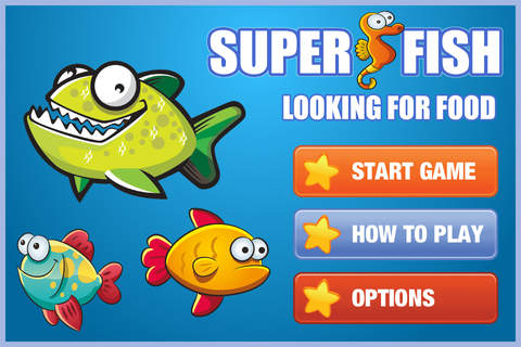 Fishing Free - Hungry Fish Game screenshot 1