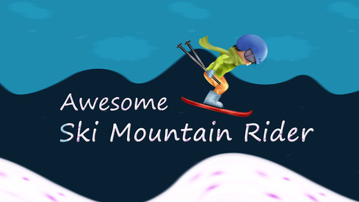 Awesome Ski Mountain Rider Pro - Cool speed Hill race