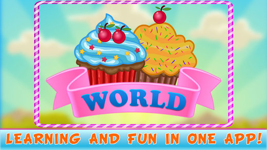 Cupcake Puzzles Fun Challenging - Cupcake World Puzzle Edition