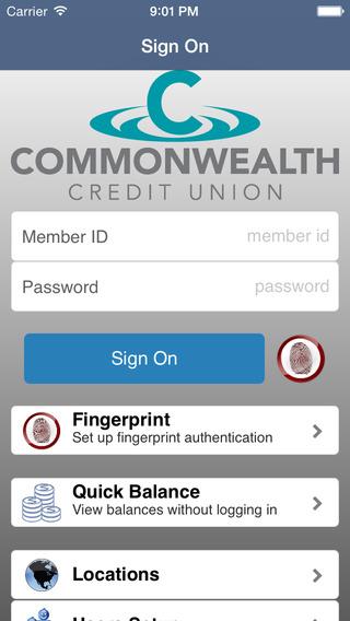 Commonwealth CU Go Mobile