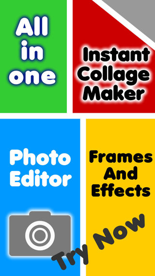 Inastant Collage maker plus photo frame - Pro version