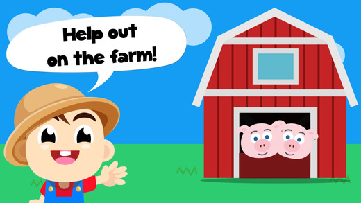 Baby Tommy Farm Animals - Barn and farm animal puzzles