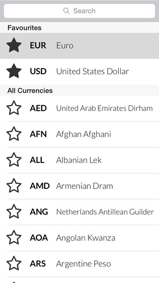 Currency Converter - Convert Foreign Money Exchange Rates for Currencies from USD Dollar into EUR Eu