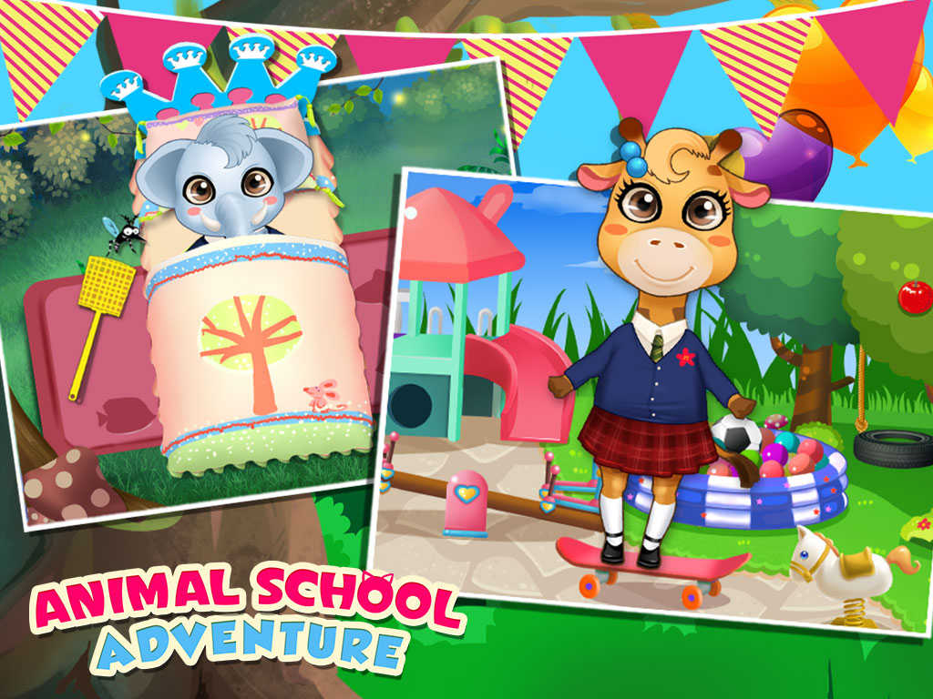 App shopper my baby animal 39 s school adventure little for A touch of class pet salon