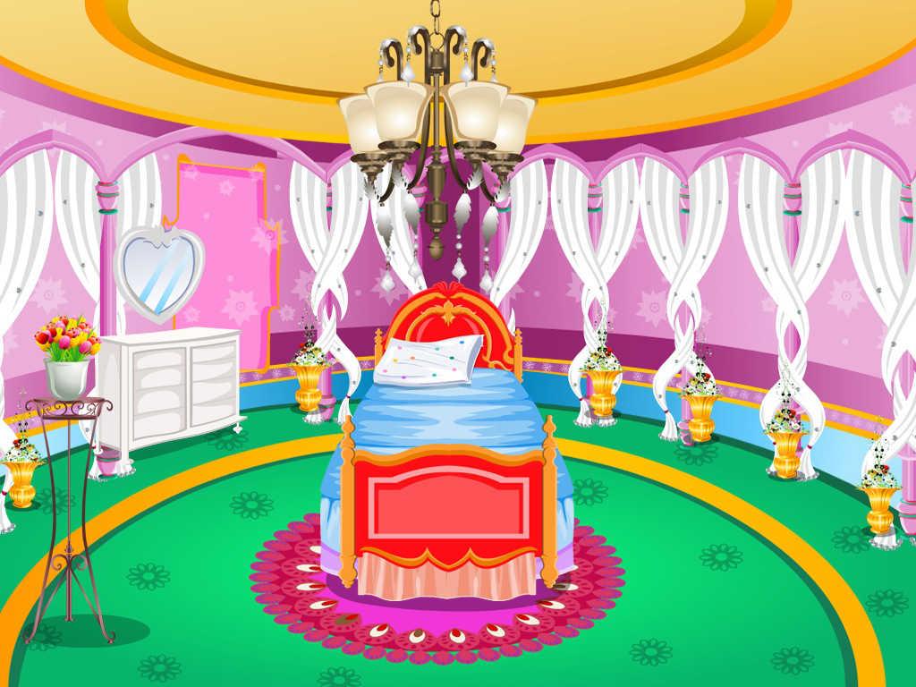 App shopper princess room decoration games for Baby room decoration games free online