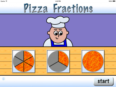 Pizza Fractions 6