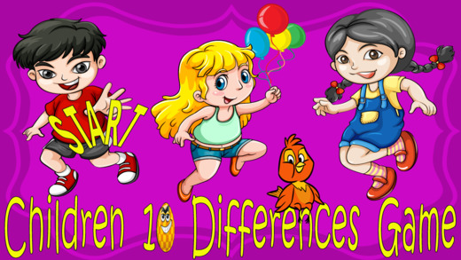 Children 10 Differences game