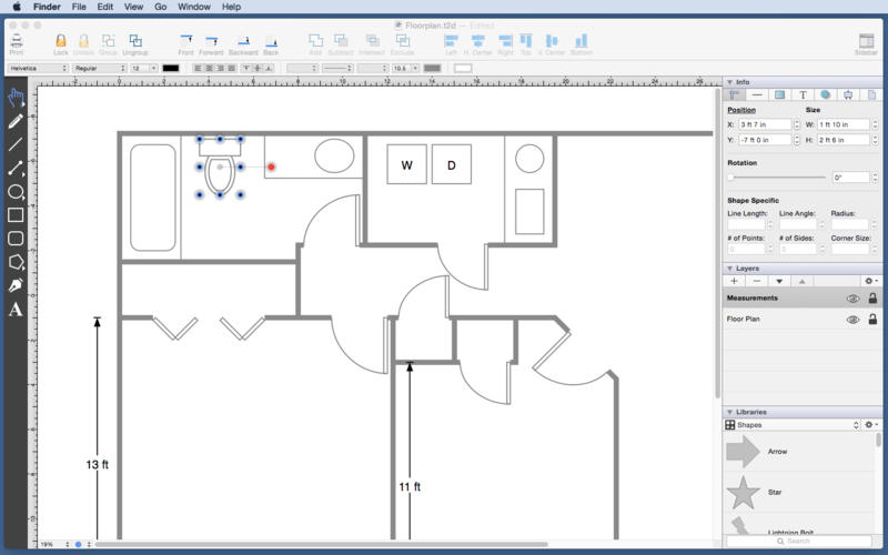 矢量图绘制软件 TouchDraw for Mac