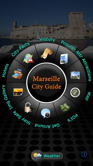 Marseille - Pont du Gard Offline Map