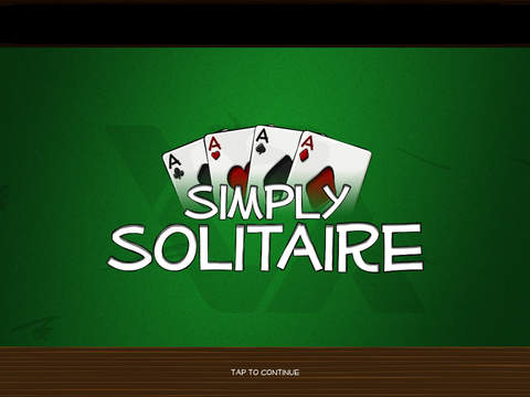 Simply Solitaire HD iPad Screenshot 1
