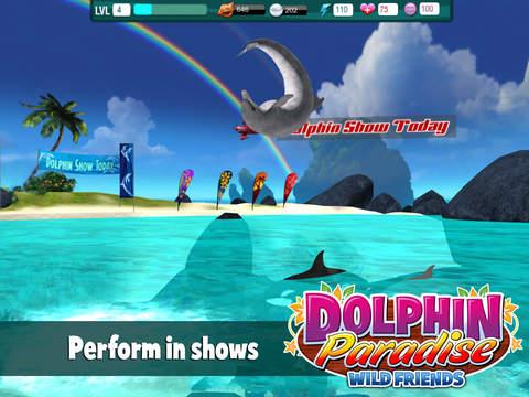 Dolphin Paradise: Wild Friends screenshot 4
